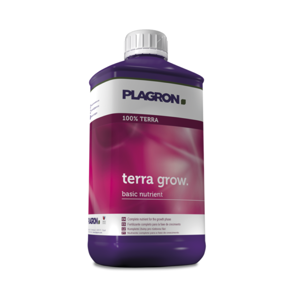 Terra Grow. Complete nutrient for the growth phase.