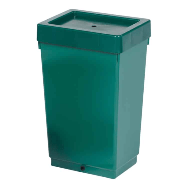 47ltr Solid Tank With Grommet Lid Green