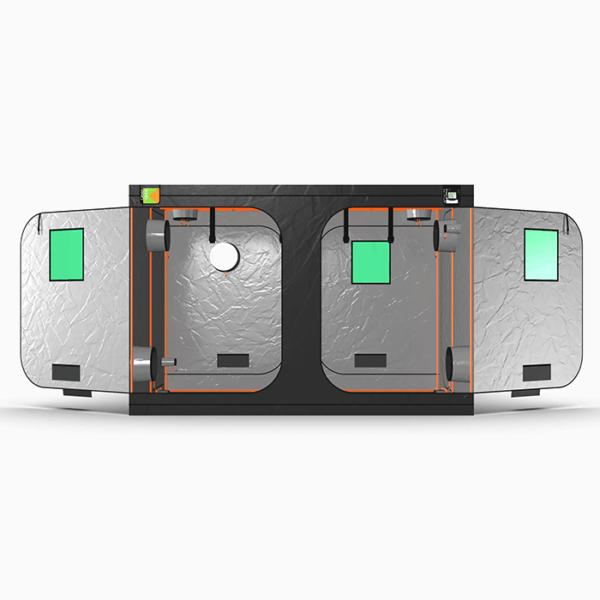 Green Qube V2 Grow Tent GQ2030 2 x 3 x 2m OR 2.2m FRONT