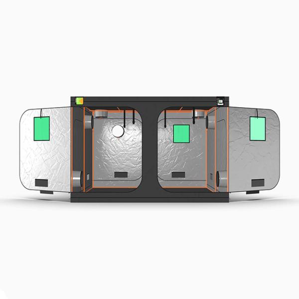 Green Qube V2 Grow Tent GQ300 3 x 3 x 2m OR 2.2m FRONT