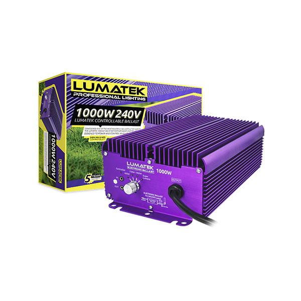 LUMATEK 1000W 240V Controllable Ballast Packaging