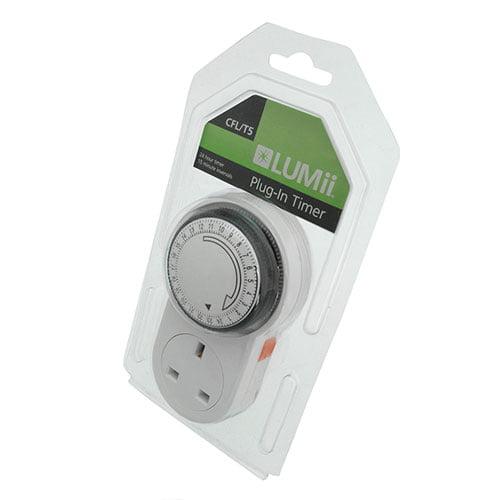 LUMii 24 hour Plug in Manual Timer1