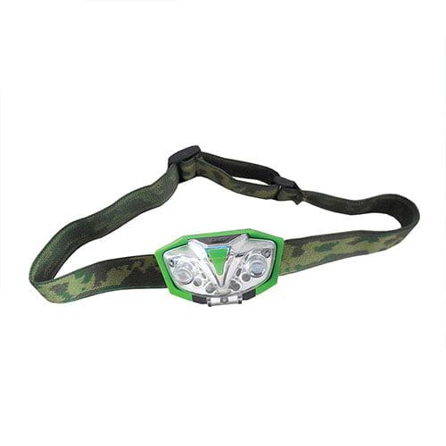LUMii Green LED Head Torch1
