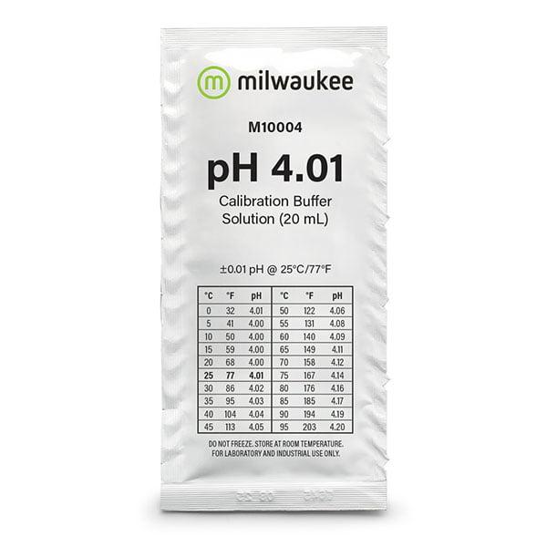 Milwaukee pH 4.01 Sachet