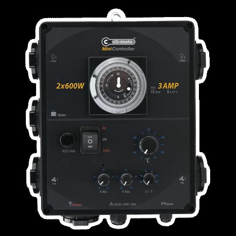 Mini Controller 2x600W 3AMP