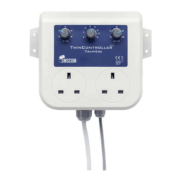SMSCOM Twin Controller 7A Mk2.1 Front