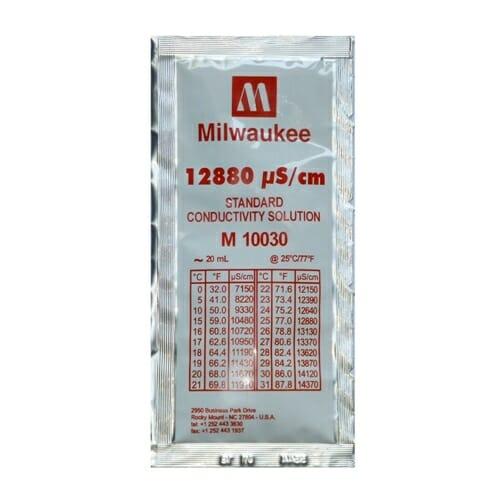 milwaukee 12880 ec calibration solution sachet m10030